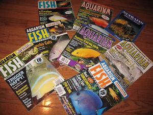 Aquarium Magazines for sale