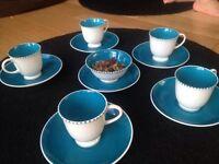 Vintage children's china tea set