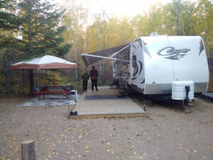SECLUDED RIVERSIDE SEASONAL CAMPGROUND Sites, St. Paul, AB