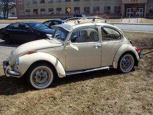 1971 VW Super Beetle