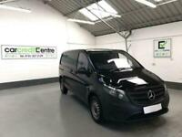 ***FROM £69 PER WEEK*** BLACK MERCEDES-BENZ VITO 2.1 114 BLUETEC DIESEL for sale