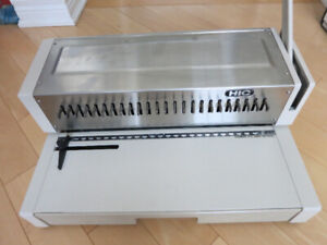 "14"" Plastic Comb Binding Machine Set"