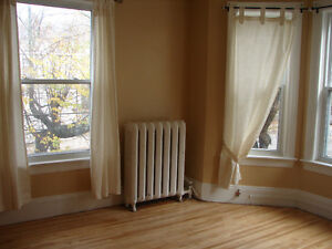 Large one bedroom apt, available SEPT 1st