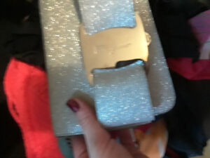 BRAND NEW SPARKLY FERRAGAMO PURSE WITH TAGS