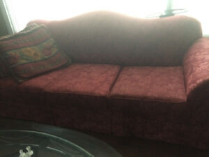 Couch ,love seat and wing back chair. Great quality
