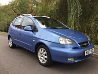 CHEVROLET TACUMA CDX PLUS AUTOMATIC LOW MILEAGE FULL MOT FIRST TO SEE WILL BUY