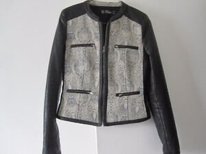 Zara Faux Leather Jacket - Small - New!