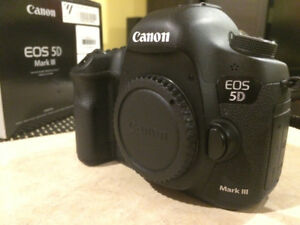 Canon 5d mkIII body only (Mark 3)  -- Excellent condition