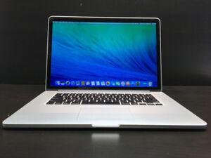 15 Inch Macbook Retina Pro - Super Fast Specs