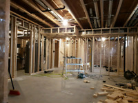 Drywall, Framing and Suspended ceilings