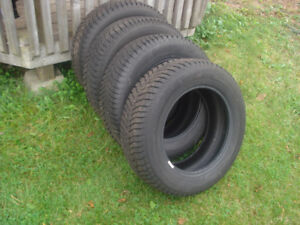 4- 195/65/15 Continental Snow Tires