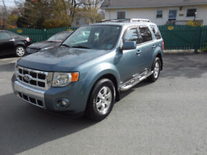 2010 FORD ESCAPE 5 DOOR LIMITED SUV, 2 YEAR WARRANTY INCLUDED