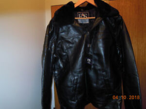 Brand New Men's Leather Jacket For Sale