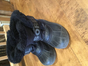 Sorel and Columbia boots