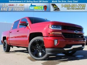 2018 Chevrolet Silverado 1500 2LT Z71 Leather Bench