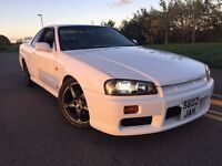 Nissan skyline r34 2.5 GTT Turbo