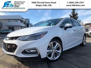 2018 Chevrolet Cruze Premier  LEATHER,RS PACKAGE,HEATED STEERING