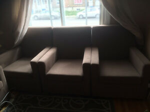 * Revised price* Single seat sofas-5 comfortable and large sofas