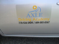 AXLE DRIVING ACADEMY, Driving School, Lessons For Class 5 / 7