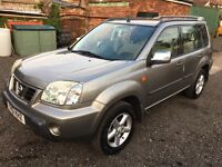 Nissan x trail 2.0 4x4 all road wheels full 12 months mot!!