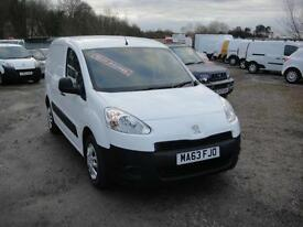 2013 Peugeot Partner 1.6 HDi 850 S L1 Van. Only 22,000 miles. 1 owner FSH.