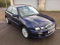 2003 Rover 25 1.4 Impression 5 Door Tahiti Blue metallic