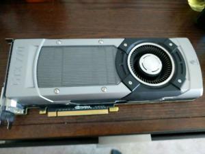 NVidia GeForce GTX 770 2GB GDDR5 PCI-Express 3.0x16 DVI HDMI