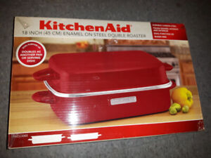 KITCHENAID 18in Double Roaster BRAND NEW