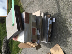 Assorted ceramic tile - 12x12s and 13x13s