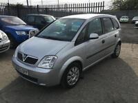 Vauxhall/Opel Meriva 1.8i 16v ( a/c ) Enjoy 2004/53 Only 97K & August 17 Mot