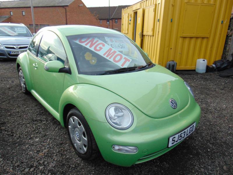 2004 Volkswagen Beetle 1 6 Rhd