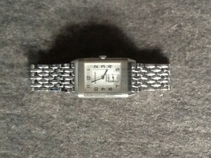 Jaeger Le Coultre Reverso Duo Face grand taille SS bracelet