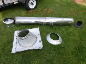 Selkirk chimney pipe and accessories