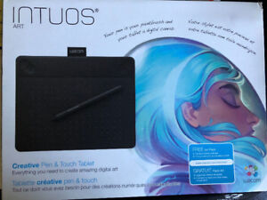 Intuos Wacom Art Tablet Small Used Once