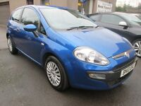 Fiat Punto 1.4 8V ACTIVE - BUY NOW PAY IN 6 MONTHS - PAY AS YOU GO FINANCE AVAILABLE - (blue) 2010