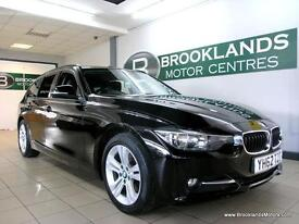 BMW 3 SERIES 2.0 320d SPORT TOURING [2X SERVICES, SAT NAV, LEATHER and HEATED SE