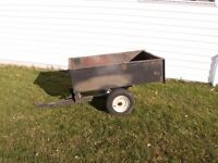 Troy-Bilt garden trailer