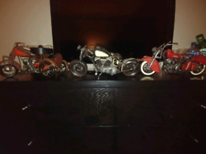 Diecast Indian Motorcycle Scale Models