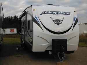 Altitude Toy Hauler AT310 by Crossroads RV