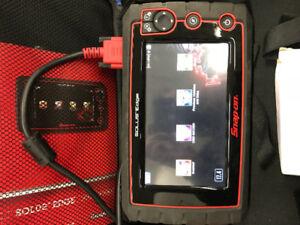 Snap-on. Solus edge scanner