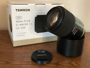 Tamron SP 90mm f2.8 Di macro 1:1 VC USD (Nikon)