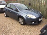 Fiat bravo 1.9 diesel 09 reg 1 year mot Finance this for £25 a week , 55 mpg excellent condition