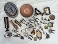 Amazing Selection of Ornate Metal Items