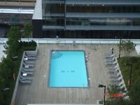 MAPLE LEAF SQ FULLY FURNISHED EXEC SET UP AS 2 BEDROOMS STUNNING