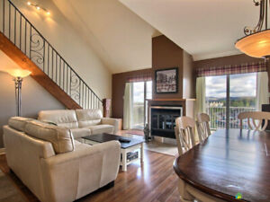 Ski-in, ski-out! Bike-in, Bike-out! Condo for rent in Bromont