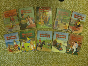 BEDTIME STORIES, 10 vol set, Unc Arhtur, excellent condition