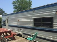 Trailer for sale @ holiday park in South Hampton