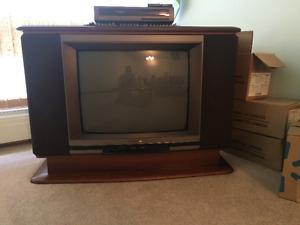 Beautiful maple TV console