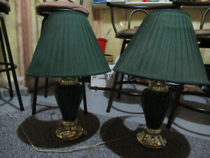 LAMPS WITH SHADES