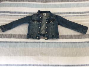 Little girl's jean jacket